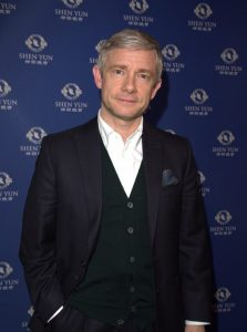Martin Freeman (Si Gross / The Epoch Times)